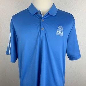 Adidas Mens XL Climacool Golf Polo